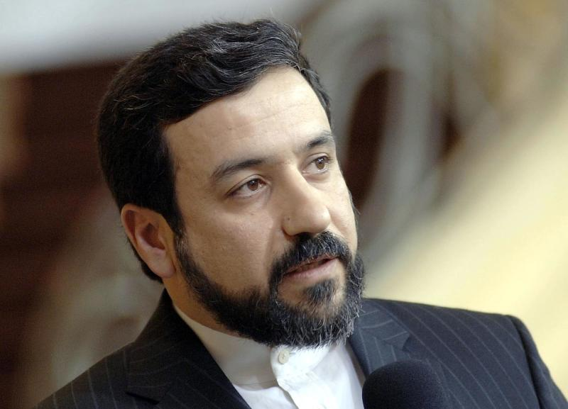 FILE - Iran's deputy Foreign Minister Abbas Araghchi is seen during the 42nd International Conference on Security Policy in Munich, southern Germany, in this Feb. 4, 2006 file photo. Iran says it has no plans to name a new diplomat to the United Nations. Deputy Foreign Minister Abbas Araghchi is quoted by the semiofficial Mehr news agency as saying Saturday April 12, 2014 that the Islamic Republic seeks to challenge the U.S. decision to block Tehrans' choice of diplomat to the United Nations through legal channels. (AP Photo/German Government, Bergmann, Pool)