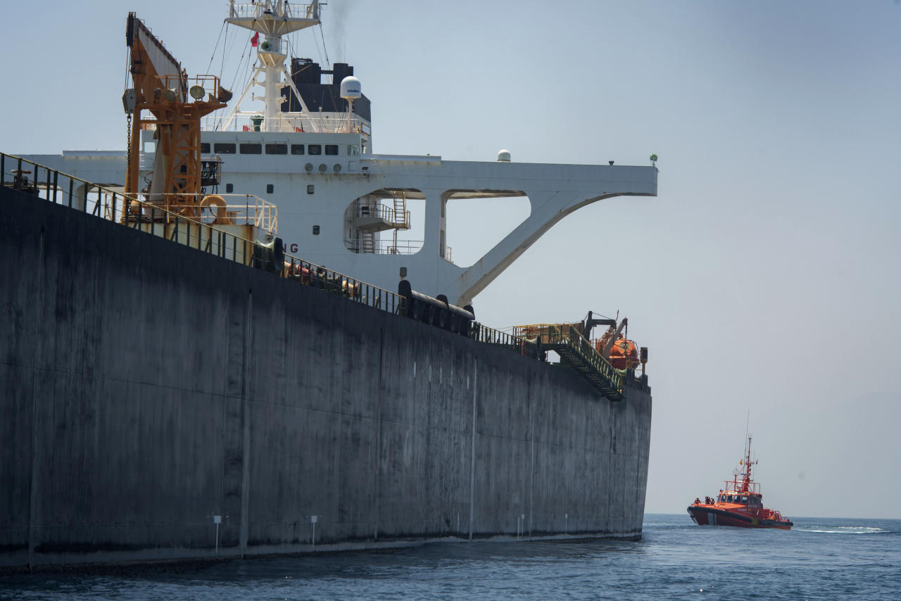 Gibraltar rejects US pressure to hold Iranian oil tanker