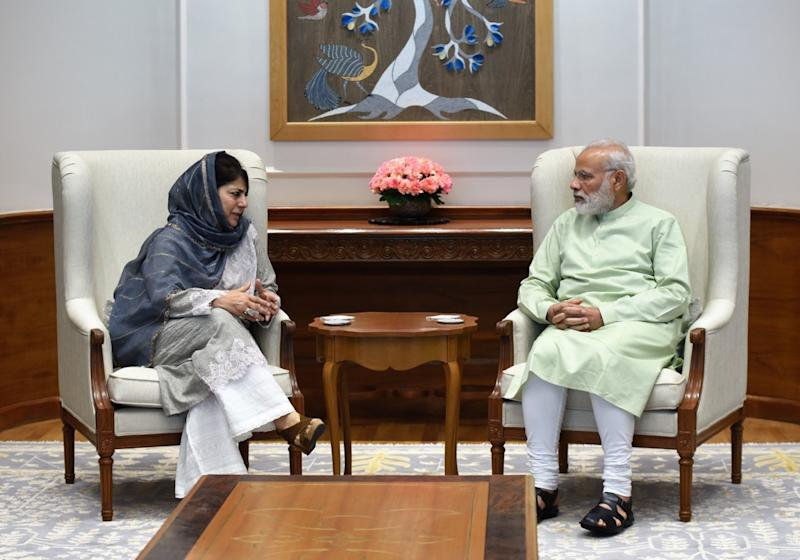 Today's Kashmiris are not afraid of the Indian Army, J&K CM Mehbooba Mufti says in interview