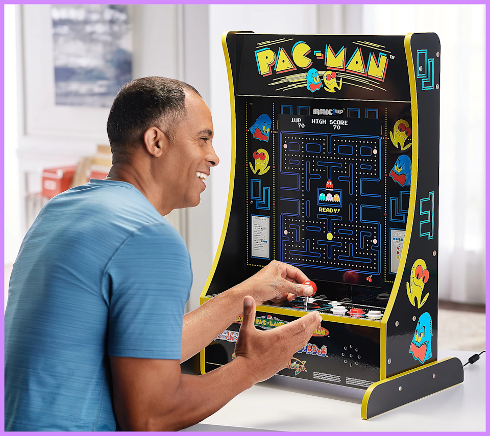 Munch your way to hours of fun with Mr. and Ms. Pac-Man. (Photo: QVC)