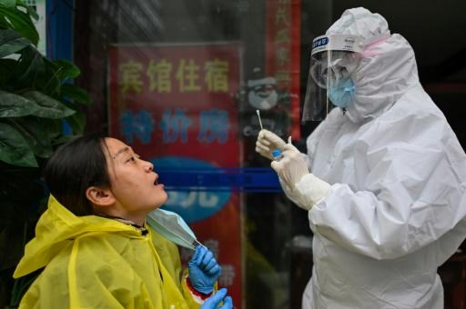 China claims success in suppressing the coronavirus, with official figures now routinely showing no new domestic infections�