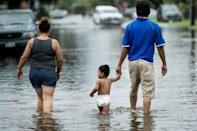 Houston battles massive floods as Harvey dumps rain on Texas