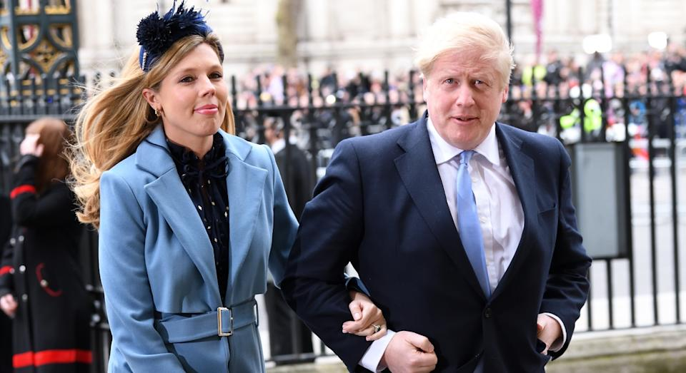 Boris Johnson says he's personally paying for the revamp of his and Carrie Symonds' Downing Street apartment (Getty)