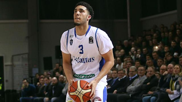 The Lakers have the 25th and 47th picks in next month's draft, and LiAngelo Ball is hoping to join his brother, Lonzo.