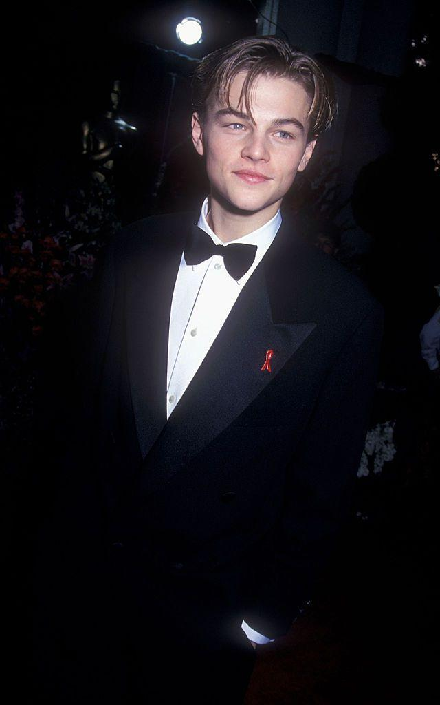<p>A 20 year old DiCaprio attended the awards in 1994 when he was nominated for a Best Supporting Actor award for What's Eating Gilbert Grape? This began a long few yers of fan-fury as DiCaprio repeatedly lost out on an Oscar. That was until (five nominations later) he finally won for The Revenant in 2016.</p>