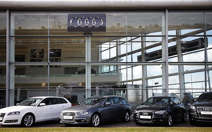 approved-used Audi cars