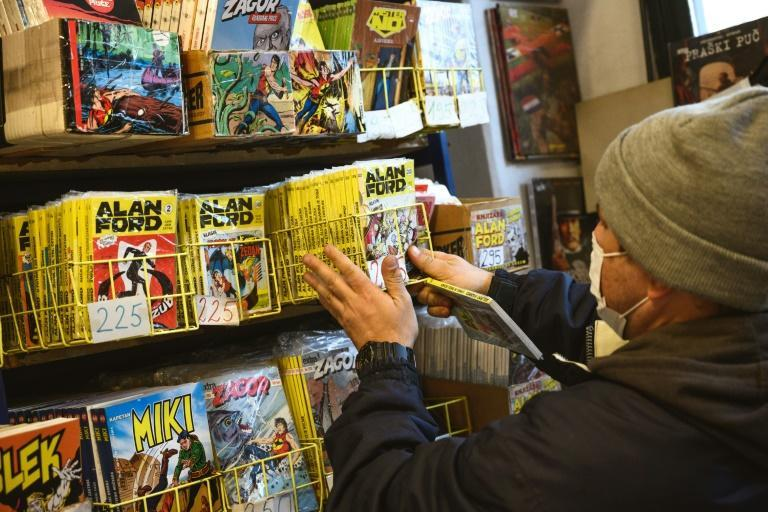 The 'Alan Ford' comics are still regularly reprinted in the Balkans