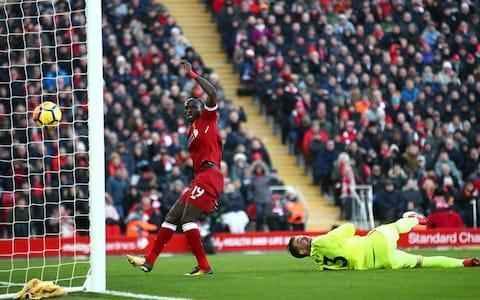 "There was a chill wind emanating from Merseyside and heading ominously towards Manchester as Mohamed Salah continued his goal binge and Liverpool moved into second. Jose Mourinho's United players may be feeling and fighting it at Old Trafford when facing Chelsea on Sunday as they now find themselves behind Jurgen Klopp's side in the table. Liverpool's win over West Ham took them to their highest league position since August, but it was the ease and panache with which they did it that left the starkest impression. David Moyes' side was shredded during one of those second-half sprees when Anfield fixtures resemble NBA matches. For the briefest period it looked like Moyes' attack may benefit as much as his defence suffered from Liverpool's freestyle football, notably when West Ham substitute Michail Antonio pounced on sloppiness in the home rearguard to reduce a three-goal deficit before the hour. But since the addition of Virgil van Dijk there are signs Klopp's side's vigour no longer comes with recurring levels of charity. They eased through the gears, scoring four when a little more ruthlessness might effortlessly have given them double. Naturally, Salah scored again. They might start printing guarantees of the Egyptian finding the net on the Anfield match tickets. He has 31 for the season already, the most by any Liverpool player in a campaign since Luis Suarez was at Anfield. The Uruguayan did it over the course of a season, not by February. It is time to start checking the records for 40-goal campaigns. Emre Can celebrates scores Liverpool's first against West Ham Credit: Simon Stacpoole/Offside/Getty Images Salah should have had a hat-trick. He hit a post and missed a sitter before scoring his side's second on 51 minutes. Only goalkeeper Adrian prevented him adding to the tally after his goal. Those with a taste for irony might ask how many the attacker will get when his finishing improves. ""I am happy I saw a lot of things we did on the training ground,"" said Klopp, who is only ill at ease these days when asked to laud Salah because of a desire to ensure those around the African receive the same applause. ""In football it is all about doing the right thing in the moment. I like Mo's desire for goals. But flexibility depends on all the players. If you only have one, it doesn't help. If you see immediately Roberto [Firmino] is defending each moment for Mo. Sadio Mane is the same. Mo is obviously doing well but Sadio could have scored one or two times more and Roberto deserved his goal. Mo is a boy who is full of greed to score goals."" Given the difficulties facing obstinate opponents, Klopp's upbeat demeanour was understandable. He has been targeting second since Manchester City disappeared over the horizon, but it is not just Champions League qualification at stake. Whoever gets closest is likely to be a realistic challenger to Pep Guardiola next year. Those who feared Liverpool would lose their creativity when Philippe Coutinho left will find little supporting evidence from nine goals in the last two games. Salah continues to score for fun Credit: PA Klopp played down the significance – psychological or otherwise – of going above his rivals this weekend, but collecting the points when at least one of those nearest to him will drop them matters. ""I don't think United and Chelsea think too much about us but they know before the match day that we are around,"" said the German. ""If Man United wins then we were second for a few hours but to get the points is important. We have no time to rest, no time to waste one point. All the other top clubs are flying, so we need to fly as well."" Liverpool went ahead on 21 minutes via a routine set-piece goal they rarely score. Salah was the provider with a corner, Emre Can's header unchallenged. This followed an encouraging period for the visitors, even though Mane and Van Dijk had squandered early chances. Marko Arnautovic was troubling Joel Matip, and almost scored a spectacular opener after 15 minutes. He chipped Loris Karius from the edge of the penalty area, but the German just managed to fingertip the effort on to the bar. It was another sign of the goalkeeper's growing confidence. ""I was hoping that the goalline technology would say it was over the line. It was not to be,"" said Moyes. Liverpool cut loose after the break, the excellent Alex Oxlade-Chamberlain teeing up Salah before Adrian's error enabled Firmino to tap in a third. After an end-to-end passing move which began with Karius, Andy Robertson's cross fed Mane on 77 minutes to end any hope of a West Ham revival. Sadio Mane completes the scoring with a clever chip Credit: Getty Images Without a recognised striker, Moyes was depending on his runners. Antonio's introduction momentarily helped as there was tidiness without penetration until then, although the caution in the visitors' line-up was also evident with Patrice Evra's inclusion – his first appearance for West Ham. That stirred the blood of the Kop, who reminded him of his Manchester United past – and role in Suarez's notorious suspension in 2011 – at each opportunity. ""I thought we played quite well in the first half and we were maybe a bit unfortunate not to go a goal ahead,"" said Moyes. ""Although Liverpool had chances too I was happy in the first half, but certainly not the second. ""It is really difficult to deal with them. We worked most of the way to try and find a way we could contain them best as we could. There were parts when we did. Today was the first day we gave away some individual mistakes that led to goals."" West Ham still have more to do to ensure an encouraging spell under Moyes leads to safety, but this was an occasion when even Arctic temperatures could not stop Liverpool's front players lighting their usual fires. It was once said at Anfield ""first is first, second is nothing"" but times have changed. To be runners-up this season would the next domestic barometer of progress for Klopp. That ambition is now approaching a pivotal stage. ""It is really intense for all the teams involved and we play United in two weeks,"" said Klopp. The forthcoming trip to Old Trafford may determine who is the best of the rest behind City. 4:52PM Full time Liverpool move up to second after a comprehensive victory over West Ham who made chances in the first half but were cut apart by Liverpool's dynamism in the second. 4:50PM 90 min Liverpool simply stroke the ball around. Collins makes a good defensive header at the near post. We'll have three more minutes but we've seen enough. 4:44PM 86 min Lallana skates through the box on the right and fires a riser over the bar. Double Liverpool substitution - Moreno and Solanke on for Salah and Mane. 4:41PM 84 min West Ham double sub: Chicharito for Arnautovic, Rice for Joao Mario. Hernandez should tell Moyes to go boil his head. 4-1 down and sent on with six minutes left? 4:40PM 83 min Liverpool sub - Lallana replaces Firmino. 4:38PM 82 min Robertson actually wanted the ball back off Mane and was headed beyond Zabaleta again. 4:38PM 80 min Robertson again plays in mane but this time further out and with many more blue shirts ahead of him. From 22 yards he spins and drags a shot wide of the left post. 4:36PM 78 min Made by Robertson's express run up the left. He gets behind Zabaleta again and takes the pass from Firmino in his stride. He looks up and picks out Mane's diagonal run to the near post and the man who just missed a sitter, stabs the ball over Adrian and into the roof of the net. Liverpool 4 - 1 West Ham (Sadio Mané, 77 min) 4:34PM Goal! Liverpool 4-1 West Ham (Mane) A minute after missing a sitter, Mane scores Credit: Clive Brunskill/Getty Images 4:33PM 74 min Mane, one on one with the keeper, after Cresswell's error plays him onside. Terrific reverse pass from Oxlade-Chamberlin to make the chance. He has all the time he needs, all the time in the world, but can't use it wisely and steers a left-foot shot on to the foot of the left post. Post: Liverpool 3 - 1 West Ham (Sadio Mané, 73 min) 4:31PM 72 min Noble ends the long attacking phase with an important interception as he whips it off Oxlade-Chamberlain's toes in the box. 4:30PM 71 min Pass and move. Liverpool hog possession as they progress forward incrementally. 4:28PM 68 min West Ham are defending well now and Arnautovic has run his socks off and even gets back to turn away Alexander-Arnold's cross. Liverpool keep probing patiently. 4:25PM 66 min Evra draws a free-kick 30 yards out, left of centre. Cresswell stands it up to the far post where Arnautovic tries to loop a header over the back-pedalling Karius but succeeds only in planting it on to the roof of the net. 4:22PM 65 min Antonio, under instruction from Moyes but far too late, is yelling at his team-mates to move 10 metres or so further forward and stop sitting so deep. 4:21PM 63 min West Ham saved by Adrian's sharp stop at Firmino's feet and Cresswell's header when Firmino crosses the rebound and Salah leaps to meet it by the penalty spot. Cresswell got there first but only just. 4:20PM 61 min The substitute scores with his second touch having come in for Lanzini at 3-0. Found by a cute Kouyate pass he pulls Van Dijk wide and the keeper tries to narrow the angle. Arnautovic is yelling for him to square it but Antonio cuffs a shot inside the far post instead. Nice finish. Liverpool 3 - 1 West Ham (Michail Antonio, 59 min) 4:18PM Goal! Liverpool 3-1 West Ham (Antonio) Antonio strikes within a minute of coming on Credit: Rob Newell/CameraSport via Getty Images 4:17PM 59 min Adrian's clearance caught in the wind and didn't make it much over halfway. Joao Mario did nothing to stop Can who lifted a pass over the West Ham centre-backs. Adrian ran out to intercept but missed it and Firmino jogged past and swept a controlled shot into an open net with a no-look insouciance that delighted Mane. Liverpool 3 - 0 West Ham (Roberto Firmino, 57 min) 4:15PM Goal! Liverpool 3-0 West Ham (Firmino) Firmino has a tap-in Credit: OLI SCARFF/AFP/Getty Images 4:15PM 57 min Good save from Adrian after Liverpool carve West Ham open on the right again. Fine pass from Firmino but Sane can;t lift it over the keeper. 4:13PM 55 min Alexander-Arnold rolls a pass down the inside-right channel for Oxlade-Chamberlain's run. Perfectly weighted. O-C veers right and bends his shot into the side-netting. 4:11PM 53 min Made by Oxlade-Chamberlain's mazy run but the perfect throughball was actually an accident as he tripped and just hit it as he fell. Salah opened his body and rolled it, left-footed, into the bottom right corner. That's goal No31. Liverpool 2 - 0 West Ham (Mohamed Salah, 51 min) Mohamed Salah now has 31 goals in 37 appearances this season - an identical record on both fronts as Luis Suarez in 2013/14.— Andrew Beasley (@BassTunedToRed) February 24, 2018 4:09PM GOAL!! Liverpool 2-0 West Ham (Salah) Salah makes it 2-0 Credit: John Powell/Liverpool FC via Getty Images 4:07PM 49 min Good tackle from Evra stops Alexander-Arnold's surge up the right but the left-back gets up gingerly and limps for a while. 4:05PM 47 min It looks taters at Anfield. Klopp has his coat zipped up to cover his nose. And winces when Kouyate clouts Van Dijk with a careless arm as they leap for a header. Liverpool free kick in their own half. 4:03PM 46 min James Milner, after a couple of heavy knocks, is fit to kick off and Liverpool start attacking the Kop. 3:52PM First half shot maps Liverpool vs West Ham shots on goal Liverpool vs West Ham shots on goal And take a look at this vibrant Milner-Robertson axis: Average touch positions (half time) 3:49PM Half time West Ham have created a couple of chances and Arnautovic is playing very well but Liverpool look so dangerous. Milner has been at the heart of numerous attacking moves and the front three's movement is so difficult to contain. 3:47PM 45+1 min Liverpool free-kick 20 yards out when Milner is too quick for Zabaleta and runs across him in pursuit of a push pass. That was painful, on the ankle. Salah takes the free-kick but hits the well-constructed wall. 3:45PM 44 min From West Ham's corner Liverpool break at pace and flood forward. Collins ends the attack with a cynical but necessary hack at Oxlade-Chamberlain. A stonebonker of a booking but it could have ended in red because of Collins' pointless yapping. What did he have to complain about? Nish. 3:44PM 43 min Arnautovic stings Karius's palms with a swerving right-foot shot from 20 yards that the keeper dives up and to his left to slap over the bar. Attempt Saved: Liverpool 1 - 0 West Ham (Marko Arnautovic, 42 min) 3:43PM 41 min Zabaleta has some space in his own half on the right and arcs a long pass infield down the inside-right channel. Arnautovic has a hell of a job to control the dipping ball and understandably can't time his attempted hook-volley finish. Van Dijk tracked him well. 3:41PM 40 min Can brings down the lively Joao Mario as he storms through the centre circle with acres of unoccupied turf ahead of him. Free kick but too deep for West ham to trouble Liverpool. 3:39PM 37 min Alexander-Arnold hits a glorious early cross from the right that bounces through the box a la Barnes-Wallis. All it needed was a touch but I think clipping it so early even surprised Sadio Mane more than the West Ham defence. 3:37PM 35 min Liverpool fans sing the Luis Suarez song at Patrice Evra. Most knowledgeable fans in football etc. Can hyper-extends his knee when going up for a header and landing awkwardly. After treatment he seems OK. 3:35PM 33 min West Ham are creaking now - a pair of chances within 60 seconds, the first for Can who made it for himself with a six-pack turn on a wide circle but bends his shot wide. Then Robertson sends a wonderful cross to the back post where Salah should score but eyebrows it wide. 3:32PM 31 min Adrian made an error from the corner by saving Alexander-Arnold's shot and tipping it behind though it was heading wide. From the second corner on the Liverpool right, Can rises at the back post to steer a header into the inside of the side-netting. Nice finish but where was the marking? Liverpool 1 - 0 West Ham (Emre Can, 29 min) 3:30PM Goal!! Liverpool 1-0 West Ham (Can) Emre Can heads in Liverpool's first Credit: PETER POWELL/REUTERS 3:30PM 29 min From a Milner corner that West Ham head clear, Robertson hangs up a swirling left-foot cross headed towards the back post. It starts to dip out of the sun and Adrian has to tip it over. 3:28PM 27 min Cresswell bends in the free-kick from the touchline, Arnautovic mistimes his run and gets ahead of the ball but the defensive header ends up at Lanzini's feet who scuffs his shot 12 yards out from a tight angle on the left straight at Karius. 3:27PM 25 min West Ham move it up the left gradually and Evra is fouled by Firmino 20 yards inside the Liverpool half. 3:25PM 23 min Salah comes off the right wing to try to flick in a Robertson cross but Evra held his line and up went the flag for offside. The cross only parted his hair in any case. 3:23PM 21 min James Milner is block-tackled firmly by Mark Noble who had to go for the ball to stop Milner shooting from 18 yards. Noble gets to the ball before Milner but does send the Liverpool midfielder flying and he stays down after a heavy fall. On comes the spongeman who eventually restores him to the vertical. 3:21PM 20 min Mane should score from a near post header after Firmino's fine run and cross from the right but steers it waywardly. 3:20PM 18 min Another West Ham chance caused by hesitancy in the Liverpool defence. Lanzini is given an age to trap the ball, hold it and lay up Arnautovic who switches the ball across the box for Zabaleta to shoot just wide. Miss: Liverpool 0 - 0 West Ham (Pablo Zabaleta, 16 min) 3:18PM 15 min Arnautovic chips Karius, who gets a fingertip on it that takes it flush on to the crossbar. He outran a plodding Matip to make the chance. Attempt Saved: Liverpool 0 - 0 West Ham (Marko Arnautovic, 15 min) 3:15PM 14 min Joao Mario and Zabaleta try to do the same number on Robertson but the Liverpool left-back doesn't give him enough room round the back to get the cross in by the corner flag. 3:14PM 11 min Zabaleta is being targeted by Milner and Robertson, the former trying to find the pass to let the left-back get behind him but this time Zabaleta blocks the ball and thwarts the attempt. It comes back to Salah who scoops an attempt at Adrian 3:11PM 9 min Evra's every touch is being booed. For Manchester United not Suarez reasons I hope but suspect it's the latter as much, wholly undeservedly. Robertson hits a near-post cross that Zabaleta hooks clear. 3:09PM 7 min From which Van Dijk beasts Ogbonna who mistimed his jump, only to head it tamely towards Adrian's chest. Attempt Saved: Liverpool 0 - 0 West Ham (Virgil van Dijk, 7 min) 3:08PM 6 min Liverpool, comfortable in possession in their own half as the Hammers drop off, begin probing up the right patiently and then Salah plays a gorgeous return pass to Alexander-Arnold, injecting pace into the move, and the right-back drives to the byline and tries to hang a cross up for Firmino. West Ham clear it behind for a corner. 3:06PM 4 min Salah and Firmino tear a whole through the West Ham defence, pulling Ogbonna out of position and allowing Firmino to pull a pass back from the left perfectly into Salah's path. He stuns the pass to make the angle then drills a left-foot shot on to the inside of the right post but the ball doesn't cross the line and bounces fortunately for West Ham. The graphic says saved but I'm not sure he touched it: Attempt Saved: Liverpool 0 - 0 West Ham (Mohamed Salah, 3 min) 3:03PM 2 min Van Dijk makes an error in judgment, rushing to intercept a pass up the left made for Arnautovic but was quick enough to recover when he didn't get there first, turning and winning the ball back before rolling it back to Karius. 3:01PM 1 min After a bit of Rodgers and Hammerstein, we're off at Anfield. Joao Mario kicks off for Yer Actual and the visitors knock it back to hit it long up to Arnautovic who is penalised for buffeting Van Dijk as they battled for the header. 2:48PM The teams in black and white Liverpool Karius; Alexander-Arnold, Matip, Van Dijk, Robertson; Oxlade-Chamberlain, Can, Milner; Salah, Firmino, Mane. Substitutes Mignolet, Lovren, Gomez, Henderson, Moreno, Lallana, Solanke. West Ham United Adrian; Zabaleta, Collins, Ogbonna, Cresswell, Evra; Joao Mario, Kouyate, Noble, Lanzini; Arnautovic. Substitutes Reid, Hugill, Hernandez, Byram, Hart, Antonio, Rice. Referee Stuart Attwell (Warwickshire) 2:13PM Liverpool three Wijnaldum, Henderson and Lovren don't 'make way' - they've been ill. 2:10PM West Ham team news Evra makes his debut and Manu starts on his return from injury �� pic.twitter.com/tDoLiaLPDQ— West Ham United (@WestHamUtd) February 24, 2018 Blimey, Moyes has dropped Chicharito and gone for the Craig Levein 3-7-0 formation. Patrice Evra makes his Premier League return. 2:08PM Liverpool team news �� TEAM NEWS �� Today's #LFC side to face the Hammers... https://t.co/vJhxx1f6uipic.twitter.com/de60Zn71a5— Liverpool FC (@LFC) February 24, 2018 Matip, Oxlade-Chamberlain and Can return: Wijnaldum, Henderson and Lovren make way. 2:05PM Good afternoon Today marks the 25th anniversary of the death of Bobby Moore and in a kind gesture, West Ham have given each travelling fan to Anfield today a shirt to commemorate their greatest player. A Bobby Moore t-shirt for every away fan today. Send us your pictures of you wearing them at Anfield!#RememberingBobbypic.twitter.com/niujVzlr2y— West Ham United (@WestHamUtd) February 24, 2018 The Hammers won there in 2011, 2015 and came away with a draw last season but David Moyes' record against them is only five wins in 30 matches with 16 defeats. Liverpool have Salah, Mane and Firmino in top form, Mane back to his best in Oporto, Andrew Robertson tearing it up at left back and the underrated Ginio Wijnaldum melding it together. It looks like a tough trip for West Ham but I think they have been playing in a more coherent style away from home without getting the results to match in January apart from the trip to Huddersfield."