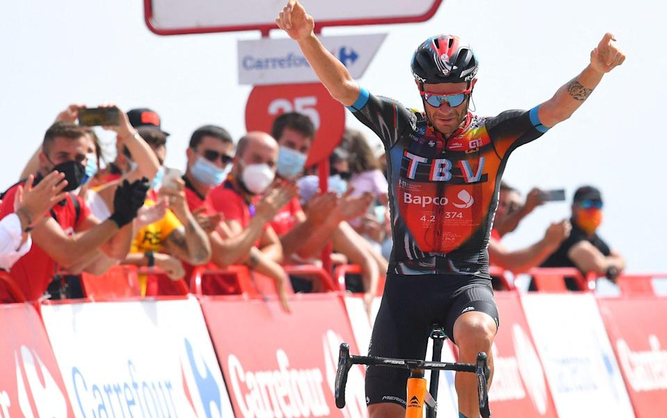 Damiano Caruso - all the latest news and results from the 2021 Vuelta a España - GETTY IMAGES