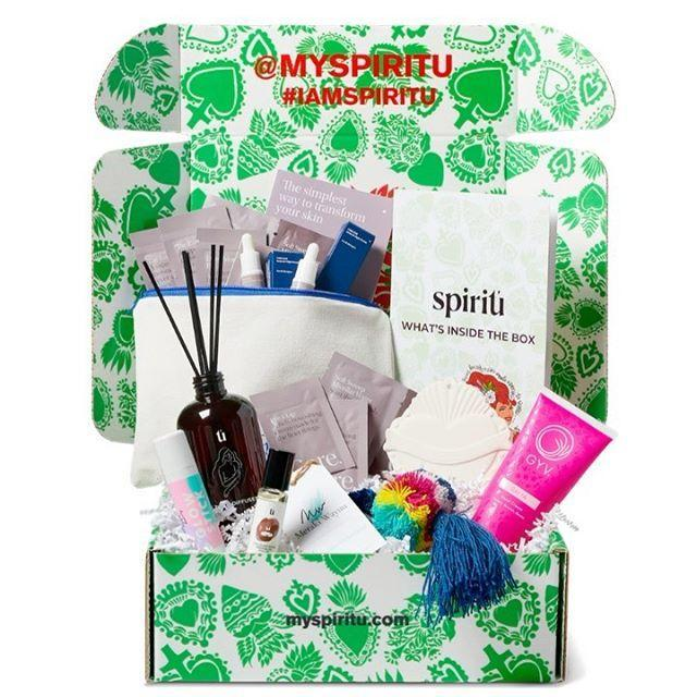 """<p><strong>Spiritú, $39.99/quarter</strong></p><p><a class=""""link rapid-noclick-resp"""" href=""""https://www.myspiritu.com/pages/box#subscribeBlock"""" rel=""""nofollow noopener"""" target=""""_blank"""" data-ylk=""""slk:SHOP NOW"""">SHOP NOW</a></p><p>Support Latinx entrepreneurs while discovering unique products from all over the world with this quarterly subscription box. Each one (which is designed by a Latinx artist) is filled with over $100 worth of handcrafted beauty and lifestyle products, but you'll save up to 70 percent by signing up for the subscription box.</p><p><a href=""""https://www.instagram.com/p/B54ELOUgNll/?utm_source=ig_embed&utm_campaign=loading"""" rel=""""nofollow noopener"""" target=""""_blank"""" data-ylk=""""slk:See the original post on Instagram"""" class=""""link rapid-noclick-resp"""">See the original post on Instagram</a></p>"""