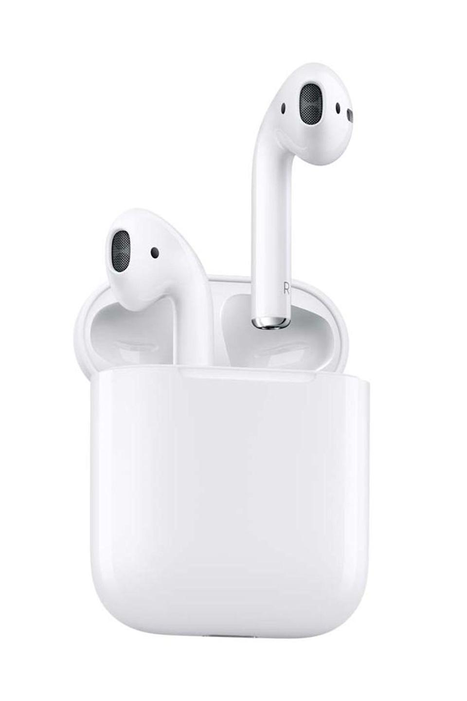 "<p><strong>Apple</strong></p><p>amazon.com</p><p><strong>$159.99</strong></p><p><a href=""https://www.amazon.com/dp/B07PYLT6DN?tag=syn-yahoo-20&ascsubtag=%5Bartid%7C10051.g.34208929%5Bsrc%7Cyahoo-us"" rel=""nofollow noopener"" target=""_blank"" data-ylk=""slk:Shop Now"" class=""link rapid-noclick-resp"">Shop Now</a></p><p>Who doesn't own a pair? </p>"