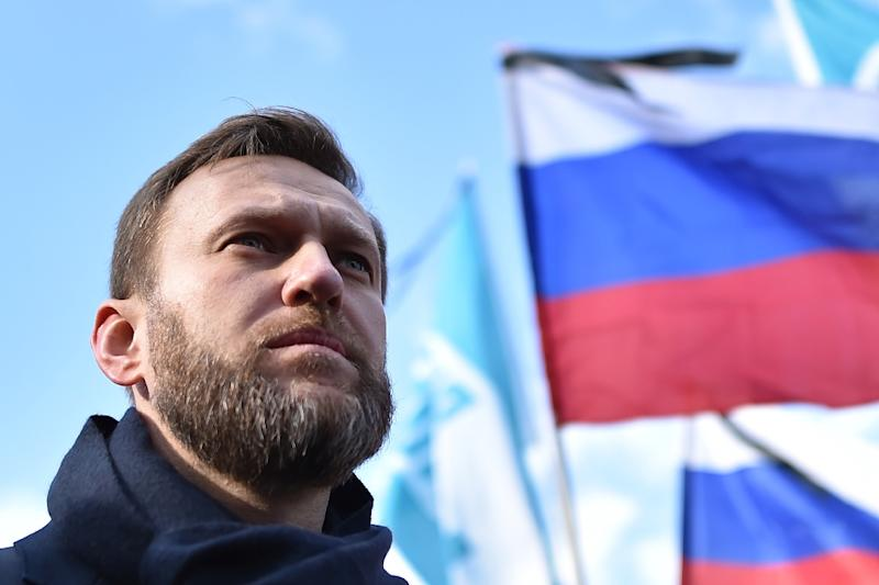 The anti-corruption blogger Alexei Navalny, seen in 2016, intends to challenge Russian President Vladimir Putin at the next presidential election, but his candidacy could be hampered by his five-year suspended prison sentence for embezzlement