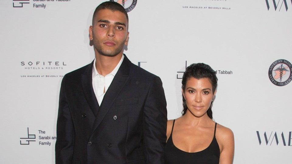 Kourtney Kardashian and her ex-boyfriend, Younes Bendjima, are hanging out again.