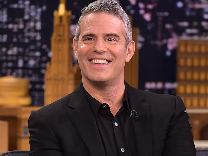 "Andy Cohen has recovered from the novel coronavirus. <p class=""copyright""><a href=""https://www.gettyimages.com/detail/news-photo/andy-cohen-visits-the-tonight-show-starring-jimmy-fallon-on-news-photo/1068951312"" rel=""nofollow noopener"" target=""_blank"" data-ylk=""slk:Theo Wargo/Getty"" class=""link rapid-noclick-resp"">Theo Wargo/Getty</a></p>"
