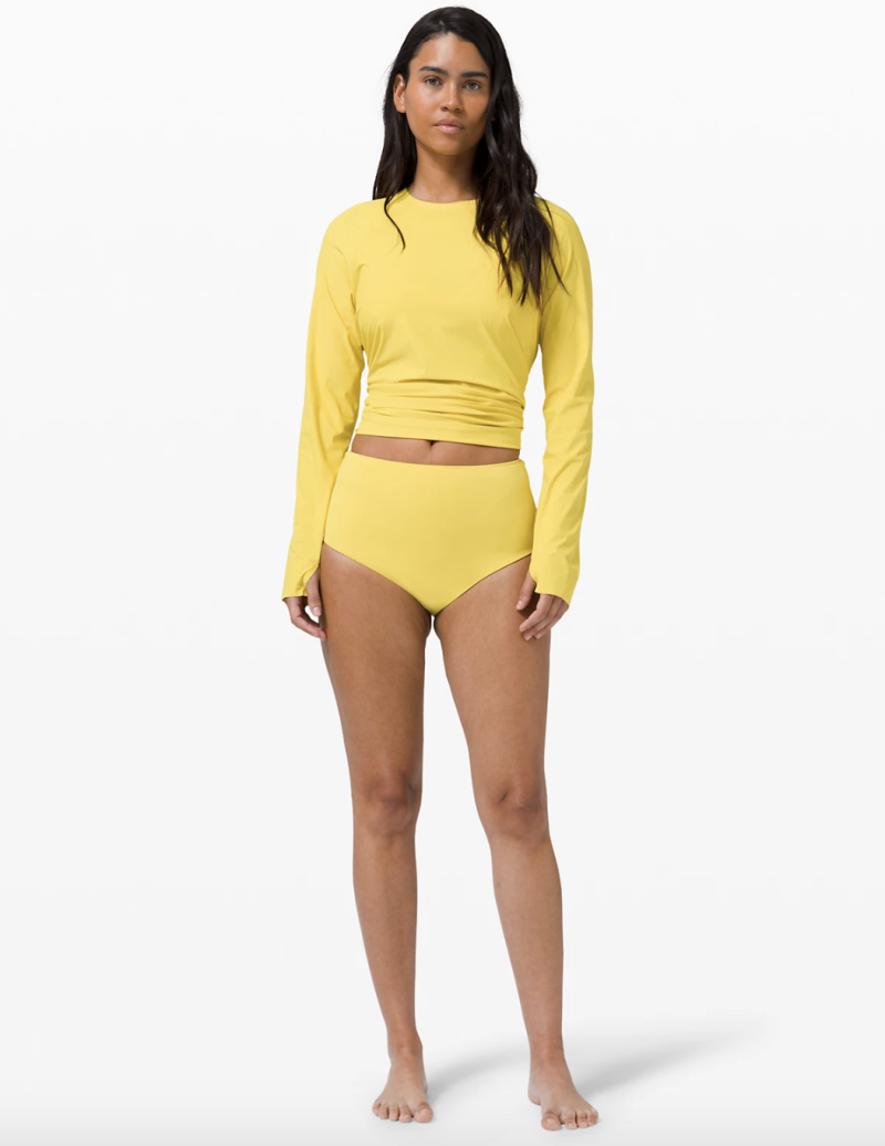 Deep Sea High Waisted Skimpy Bottom in soleil