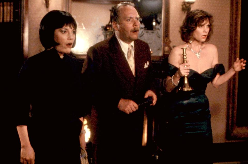 """<p>Regardless of whether you're a big fan of the board game or you've never heard of Miss Scarlet and Colonel Mustard, <strong>Clue</strong> is a classic whodunnit you just can't miss this fall. The 1985 film is a delightful murder-mystery comedy that's perfect for your next movie night. </p> <p><a href=""""https://www.amazon.com/Clue-Eileen-Brennan/dp/B000KWLRL4/ref=sr_1_1?dchild=1&amp;keywords=clue&amp;qid=1632279011&amp;s=instant-video&amp;sr=1-1"""" class=""""link rapid-noclick-resp"""" rel=""""nofollow noopener"""" target=""""_blank"""" data-ylk=""""slk:Watch Clue on Amazon Prime Video"""">Watch <strong>Clue</strong> on Amazon Prime Video</a>.</p>"""