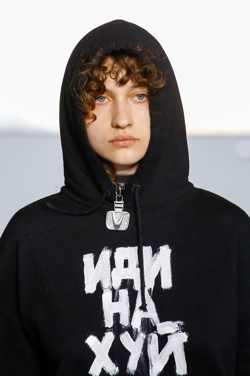 Decoding The Georgian And Russian Symbols At Vetements