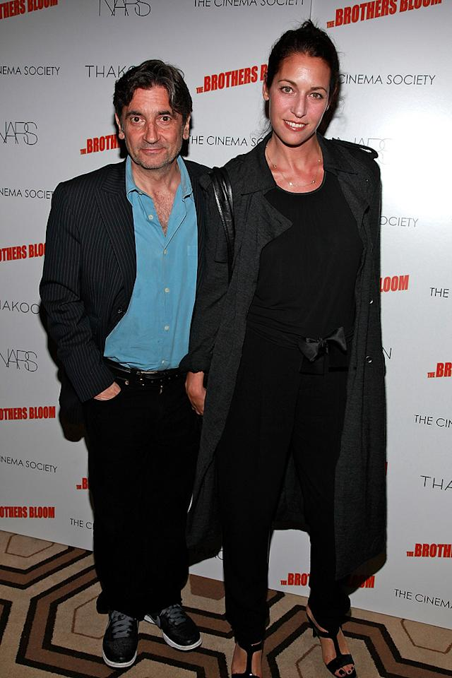 "<a href=""http://movies.yahoo.com/movie/contributor/1800016091"">Griffin Dunne</a> and guest at the New York screening of <a href=""http://movies.yahoo.com/movie/1809843292/info"">The Brothers Bloom</a> - 05/07/2009"