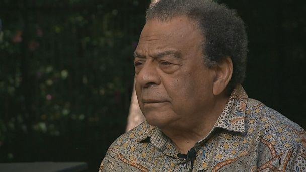 PHOTO: Andrew Young, civil rights leader and former ambassador to the United Nations, spoke about the sacrifices black people made during the Civil Rights Movement to get the Voting Rights Act of 1965 passed. (ABC News )
