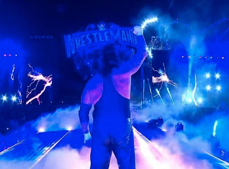 The Undertaker appeared to bow out of the WWE after a 27-year career (WWE)
