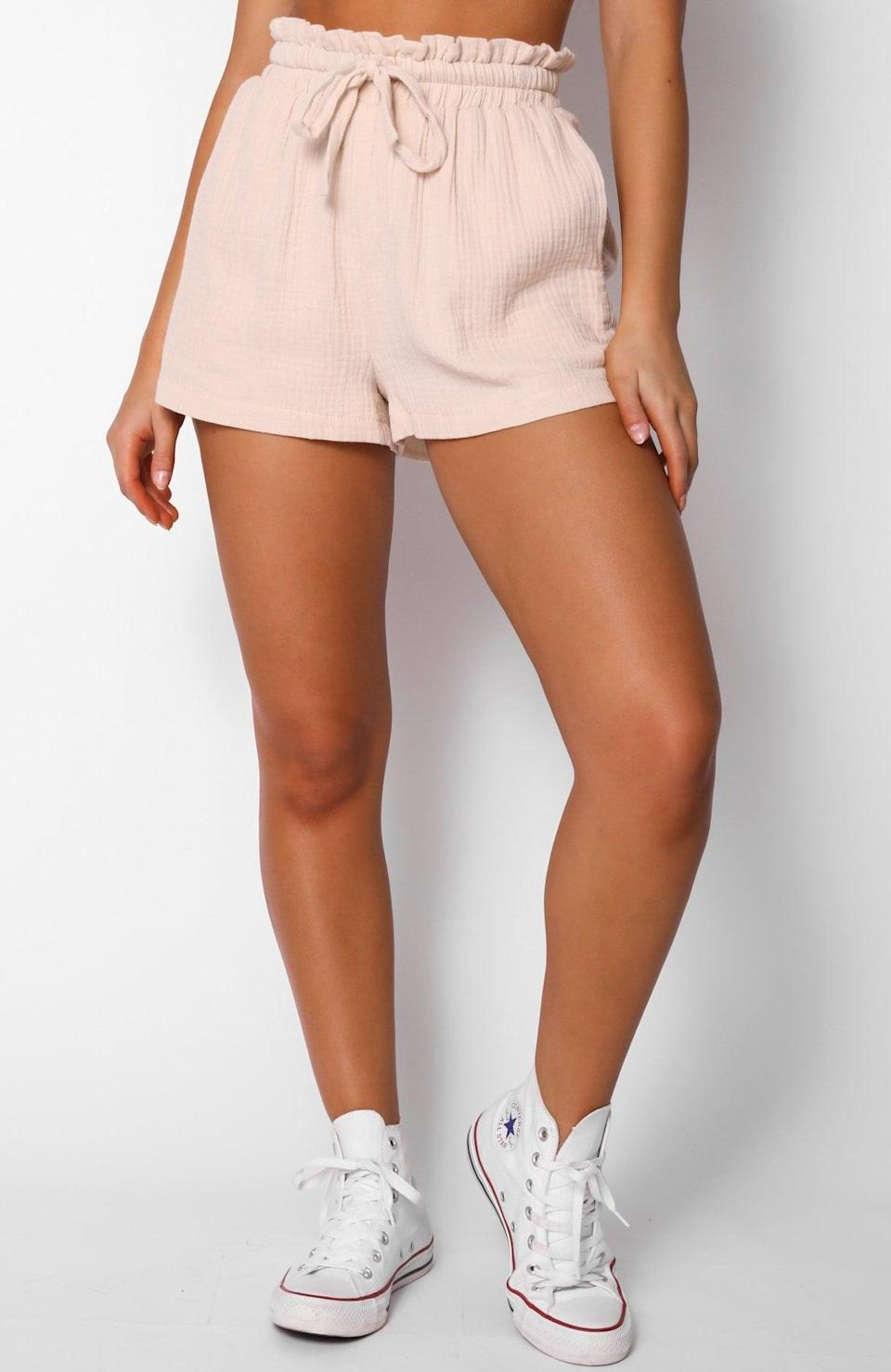 <p>We'll be wearing these <span>White Fox Hard to Handle Shorts</span> ($40) in and out of the house, 24/7.</p>
