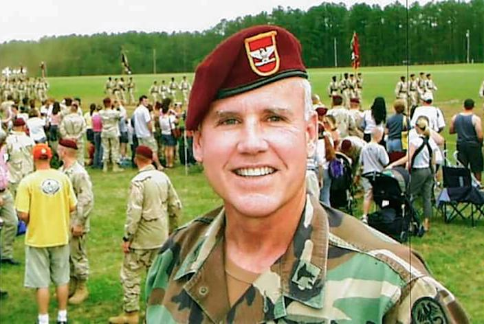 Bob Adams, then an Army colonel, in Fayetteville, North Carolina, in May 20002.