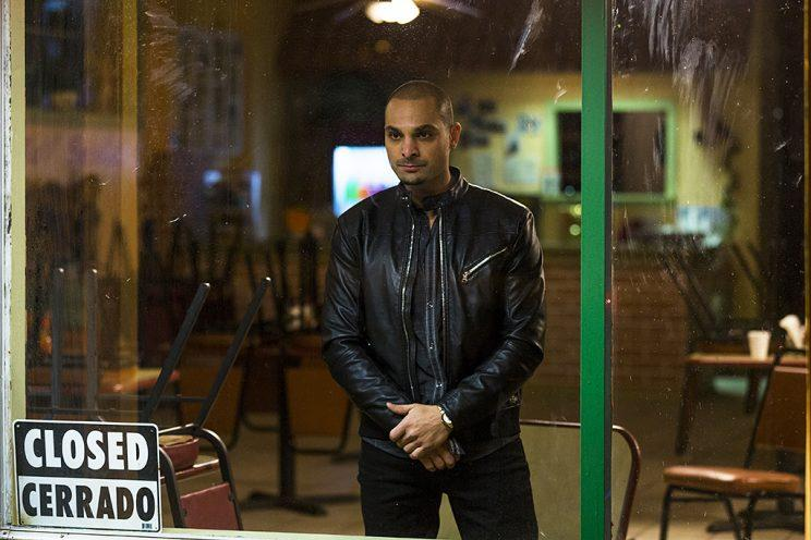 Michael Mando as Nacho Varga in AMC's Better Call Saul. (Photo: Michele K. Short/AMC/Sony Pictures Television)