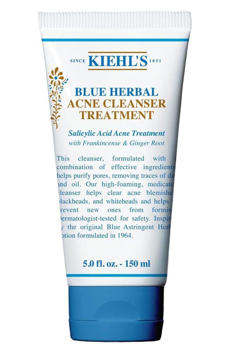 <p>Clear out your pores with the <span>Kiehl's Blue Herbal Acne Cleanser Treatment</span> ($25). Those with oily skin will love its ability to banish both blackheads and whiteheads while sloughing off dirt and debris. </p>