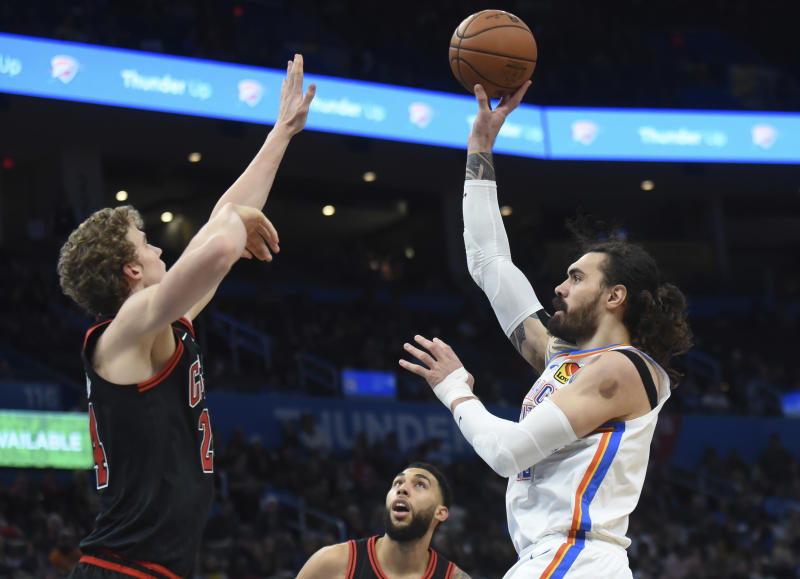 Standing at the free throw line with the game hanging in the balance, Steven Adams could feel the pressure.