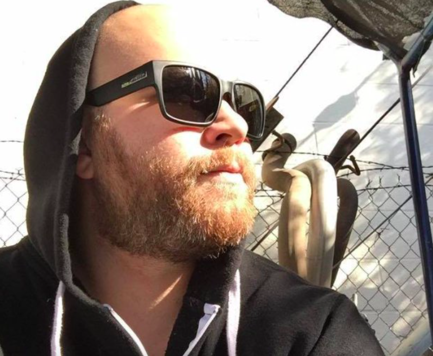 <p>Former Navy veteran Christopher Roybal served in Afghanistan. The 28-year-old wrote on Facebook what it was like to be shot just three months before the Las Vegas shooting. HIs mother Gabby was also at the concert but at a different area when the shooting began. (Facebook) </p>