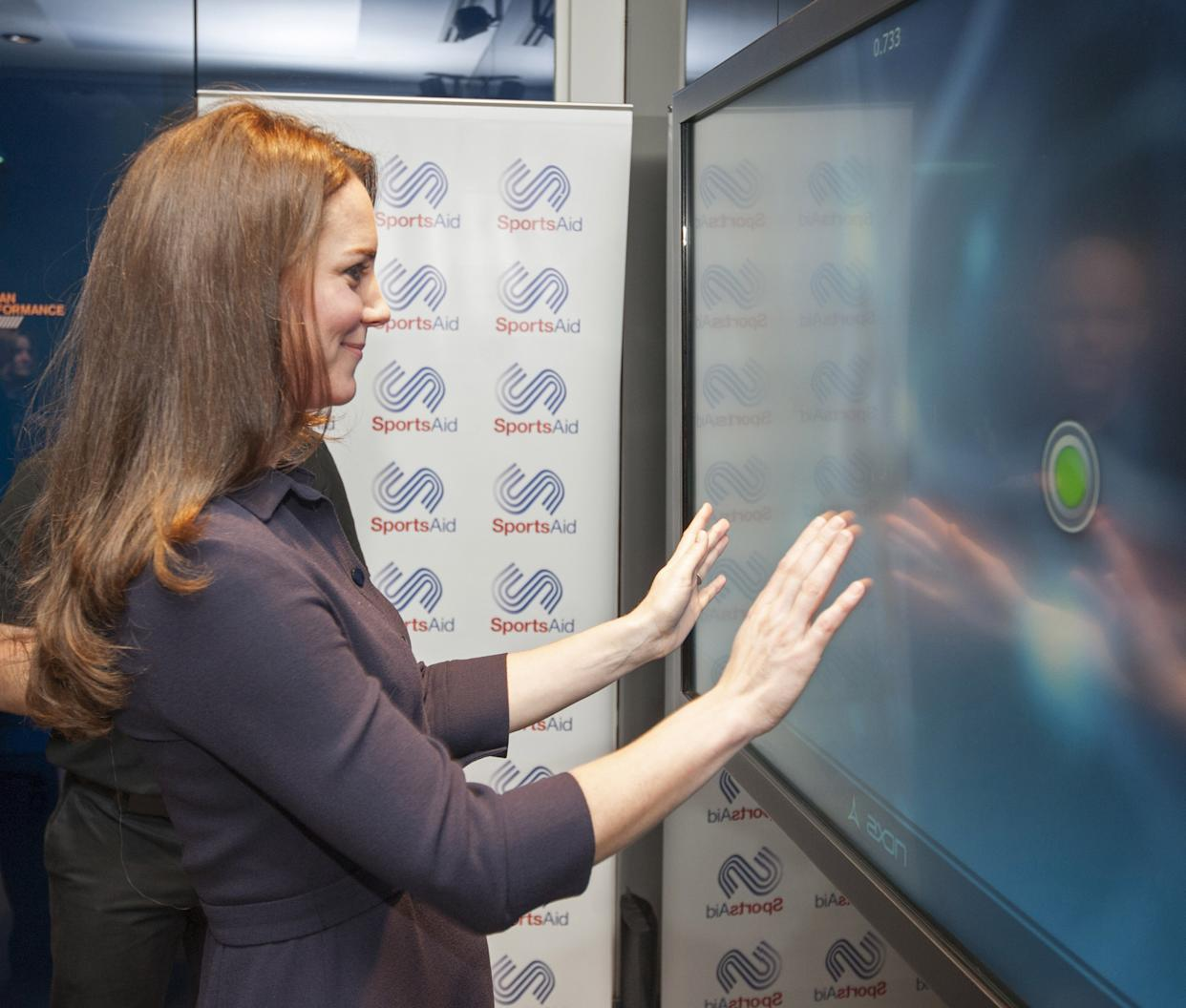 The Duchess Of Cambridge Attends A SportsAid Athelete Workshop