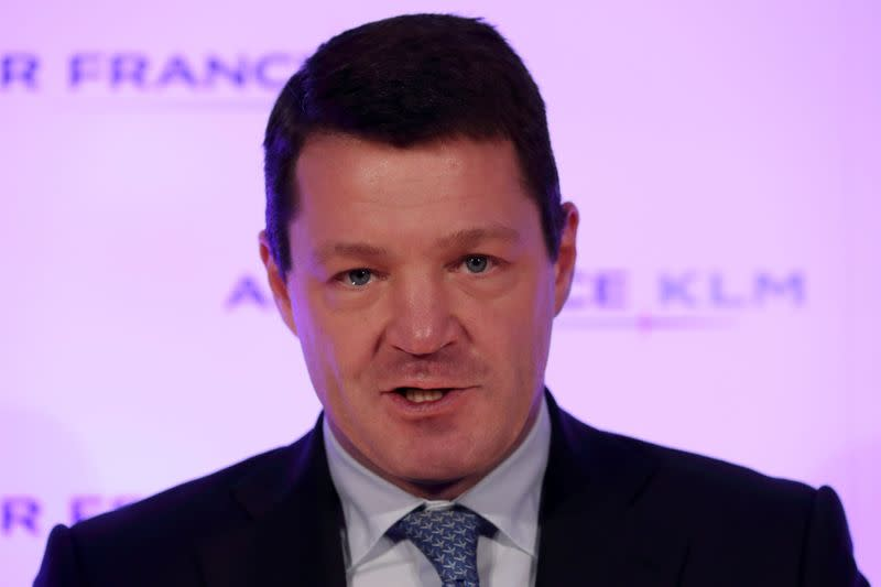 KLM CEO says not working on Air France break-up