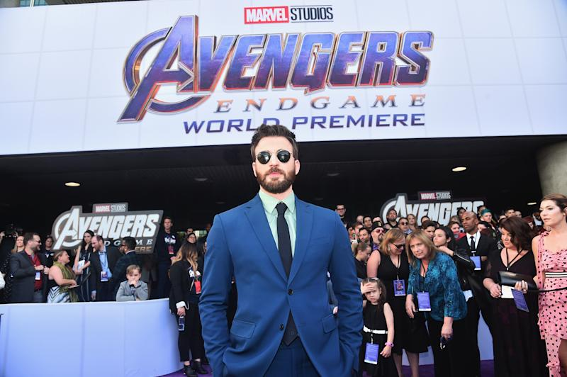 """Actor Chris Evans attends the premiere of """"Avengers: Endgame"""" on April 23, 2019 in Los Angeles, California. (Photo by Alberto E. Rodriguez/Getty Images for Disney)"""