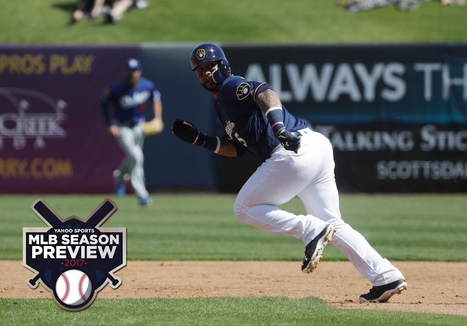 Jonathan Villar is one players Brewers fans can be excited about. (AP)