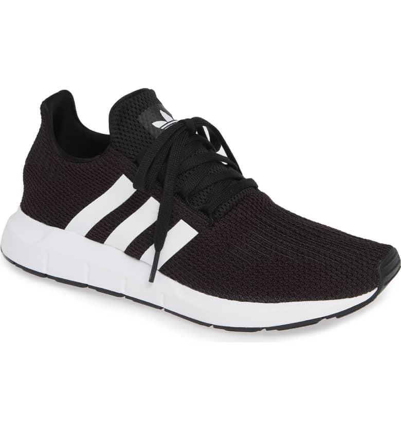 <p>With a snug, sock-like fit and a supercomfortable, cushiony sole, these <span>Adidas Swift Run Sneakers</span> ($85) will make almost any runner happy.</p>