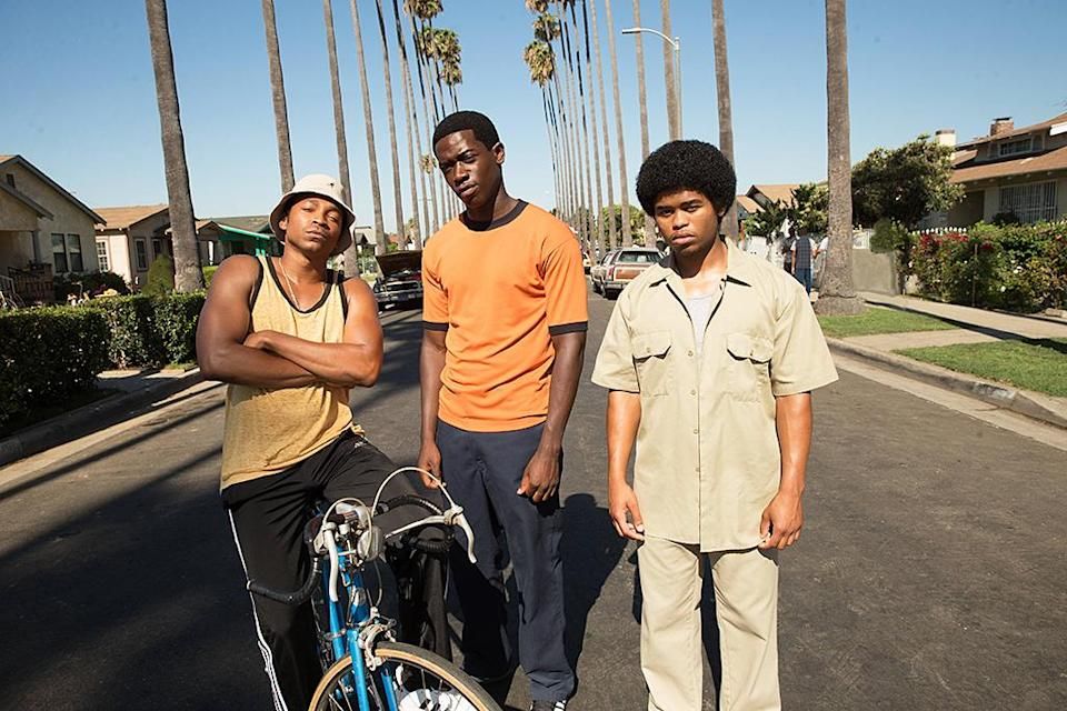 """<p><strong>The 1-Sentence Pitch:</strong> """"It's the story of crack cocaine and how it changed Los Angeles,"""" says showrunner Dave Andron.<br><br><strong>What to Expect:</strong> Set in 1983, <em>Snowfall</em> unfolds the story of the crack epidemic through a young, ambitious entrepreneur named Franklin (Damson Idris); Gustavo (Sergio Peris-Mencheta), a Mexican wrestler working for a crime family; Teddy (Carter Hudson), a CIA agent who gets mixed up with a deal to fund the Nicaraguan Contras via cocaine; and Lucia (Emily Rios), the independent daughter of the crime family Gustavo works for. """"It's funny, because you don't hear the word 'crack' until the midway point of the season,"""" says Andron, who created the series with Oscar and Emmy nominee John Singleton. """"It's not just about South Central. It's not just about the CIA. It's really about what happens when that bomb gets dropped and how it changes everything in these communities.""""<br><br><strong>Britspeak:</strong> Idris is British, a fact that gave Singleton pause when it came to hiring the newcomer. """"I was told to spend a day with John in South Central, just talking in an American accent, because he was kind of scared that I wouldn't [sound] authentic,"""" says Idris. """"His mom was there, and I'm saying things a British person would say, like, 'Oh, how lovely your hair looks today.' And his mom's like, 'He ain't from here, huh?'"""" <em>— KP</em><br><br>(Photo: Mark Davis/FX) </p>"""