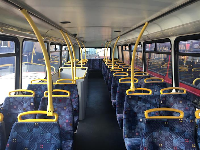 Doubledecker Home before with seats