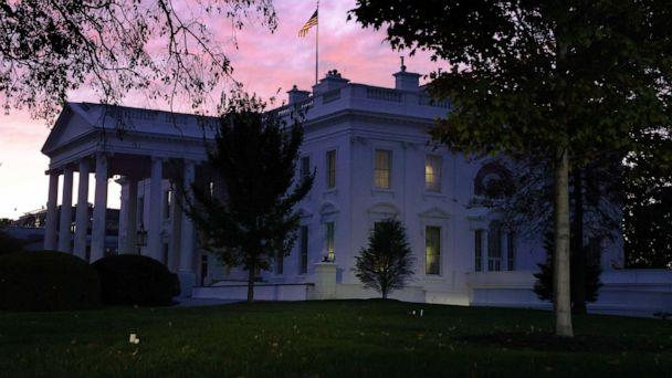 PHOTO: The White House is seen in the morning hours of the Election Day on Nov. 3, 2020 in Washington, DC. (Alex Wong/Getty Images)