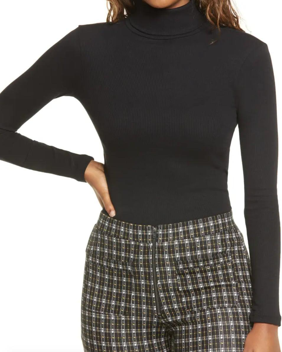 <p>This <span>BP. Turtleneck Ribbed Top</span> ($19) is both flattering and comfortable.</p>