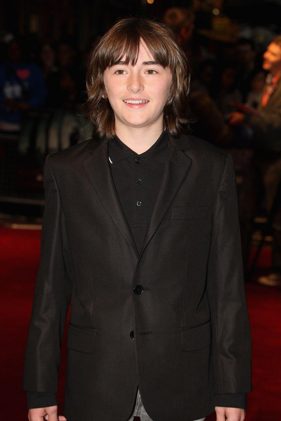 <p>Isaac Hempstead-Wright, who plays Bran Stark, in 2011.</p>