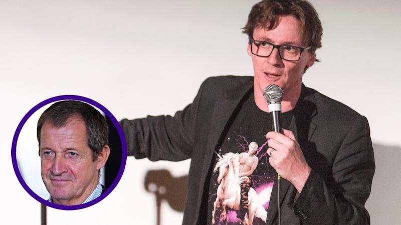 Ed Byrne will be playing former spin doctor Alastair Campbell in a forthcoming movie