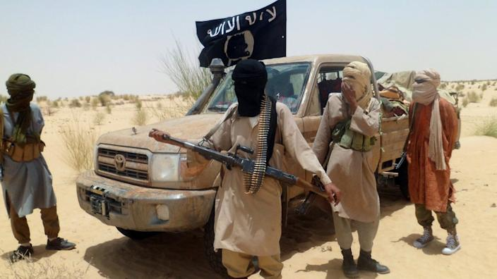 Several jihadist groups, including these militants from Ansar Dine, overran northern Mali in 2012