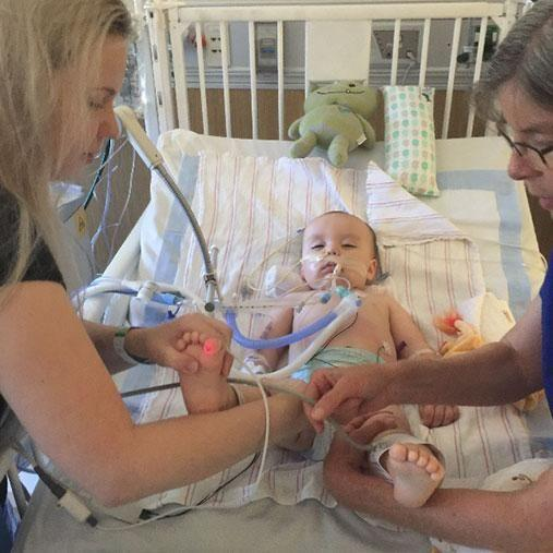 Doctors believe Cole was poisoned by a nearby building site. Photo: gofundme
