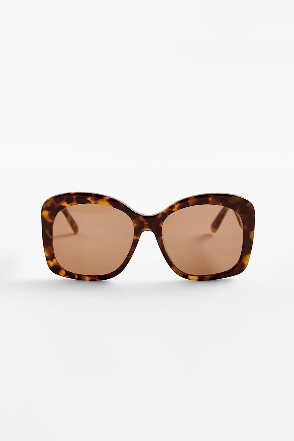 <p>These <span>Zara Acetate Glasses</span> ($40) are the stylish finish to any ensemble.</p>