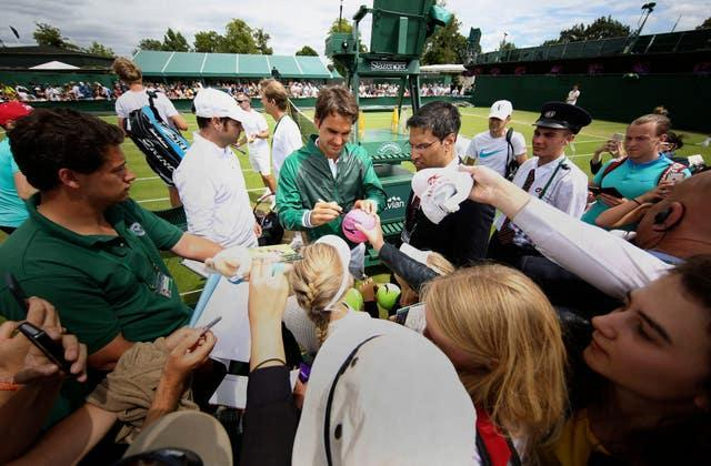 Tennis – 2015 Wimbledon Championships – Day Seven – The All England Lawn Tennis and Croquet Club