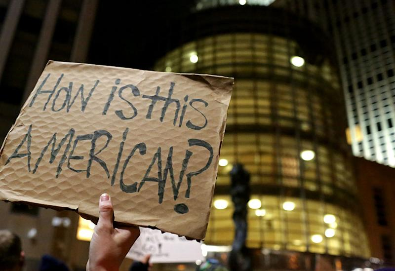 What it was like on the ground at last night's immigration protests in NYC