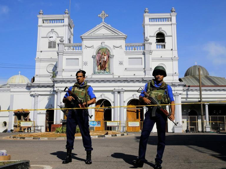 Sri Lanka placed on 'no go' list by Foreign Office after Isis bombings