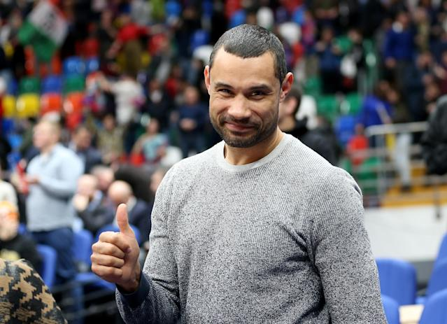 MOSCOW, RUSSIA - MARCH 21: Former player of CSKA Trajan Langdon after the 2018/2019 Turkish Airlines EuroLeague Regular Season Round 28 game between CSKA Moscow and Fenerbahce Beko Istanbul at Megasport Arena on March 21, 2019 in Moscow, Russia. (Photo by Mikhail Serbin/EB via Getty Images)