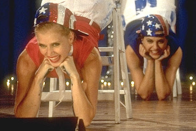 <p>Adams was in good company with costars like Kirsten Dunst, Brittany Murphy, and Denise Richards for her first film, in which she played a beauty contestant.</p>
