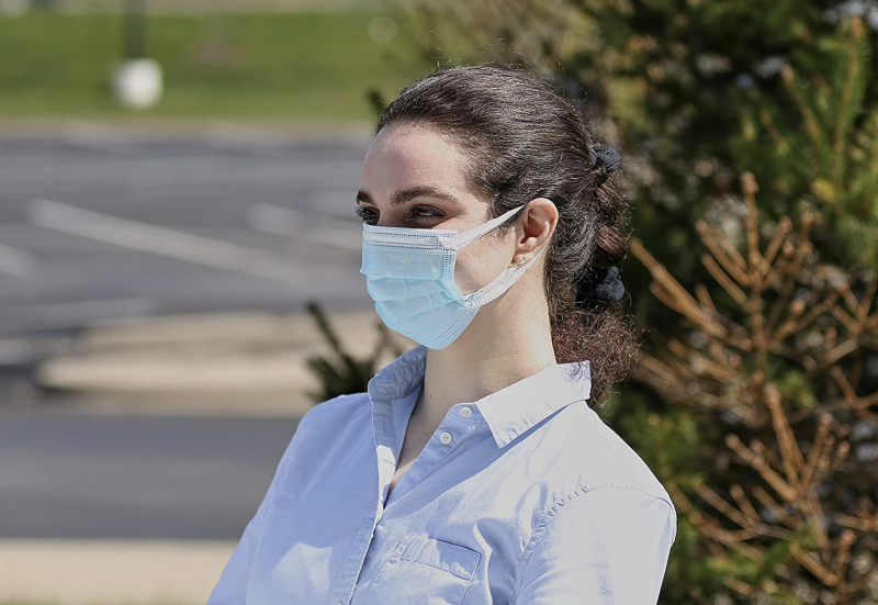 This disposable mask is latex-free. (Photo: Amazon)